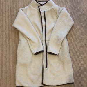 Jackets & Blazers - White Fuzzy Jacket